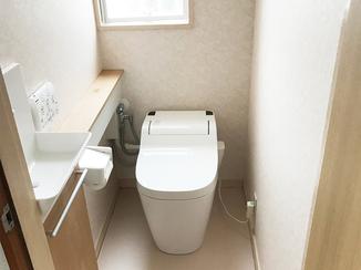 トイレリフォーム 雰囲気一新!高級感あふれるトイレ