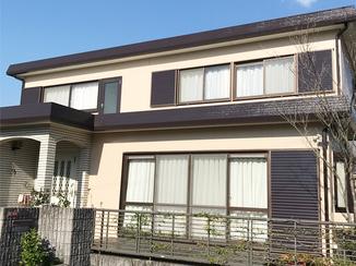 外壁・屋根リフォーム お気に入りだった新築当時の色味を再現