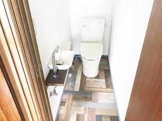 内装リフォーム 2階にトイレ新設で家族みんなが安心