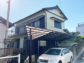 外壁・屋根リフォーム すみずみまでメンテナンスをして美しくなった外壁と、台風対策をした窓