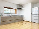 キッチンリフォームひろびろ使える明るいLDKと、温かなバスルーム
