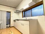 キッチンリフォームビルトイン食洗機に替えて作業スペースがスッキリし、使い勝手がよくなったキッチン