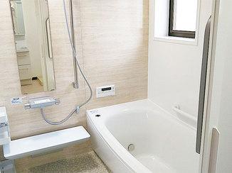 バスルームリフォーム シンプルで使いやすいバスルーム