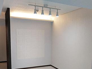 マンションリフォーム 調光照明とタイルで演出するオシャレなお部屋